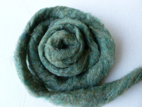 Wool Roving, Bracken Heather by Bartlett yarns - Felted for Ewe