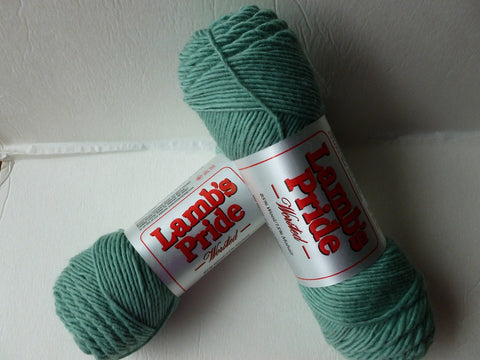Sea Glass Green Lamb's Pride Worsted  - Seconds - by Brown Sheep Company - Felted for Ewe