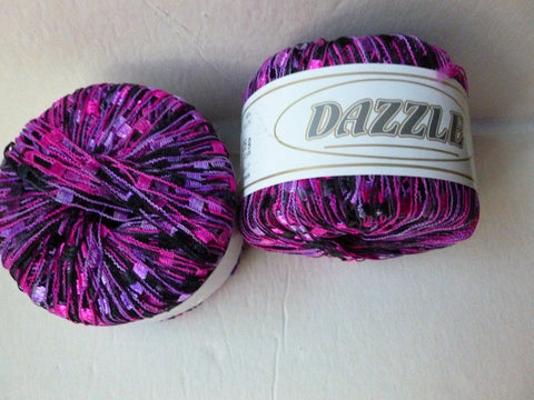 Purples 121 Dazzle by KFI - Felted for Ewe