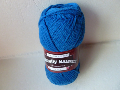 Snowman  Naturally Nazareth Aran by Kraemer Yarns, 100 gm Felting Wool - Felted for Ewe