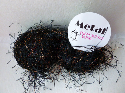 Black and Cooper 57 Metal by Trendsetter Yarns - Felted for Ewe