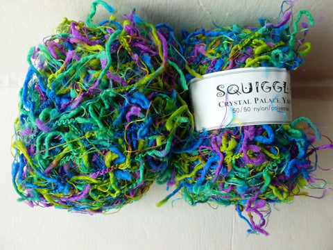 Cool Jazz  9289 Squiggle Print by Crystal Palace Yarns - Felted for Ewe