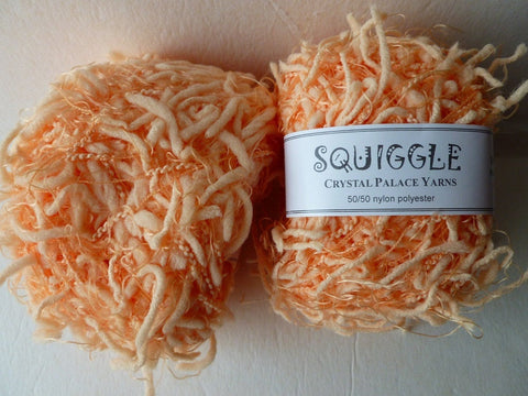 Peach Fuzz 5183 Squiggle Solid  by Crystal Palace Yarns - Felted for Ewe