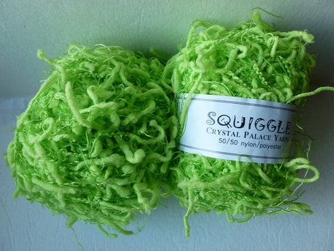 Pippin Green 4705 Squiggle Solid by Crystal Palace Yarns - Felted for Ewe