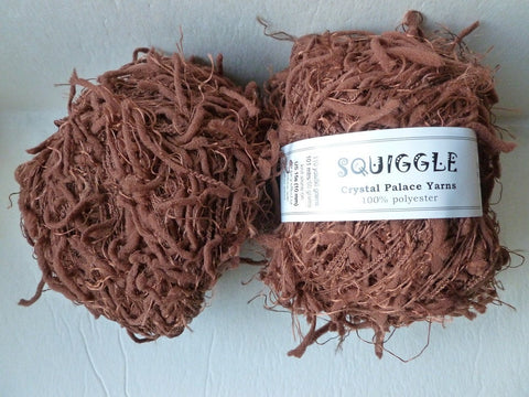 Nutmeg 5184 Squiggle Solid by Crystal Palace Yarns - Felted for Ewe