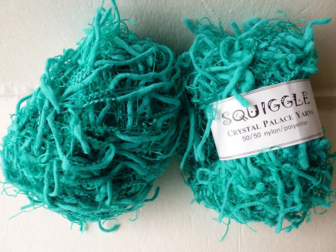 Neptune Teal 2267 Squiggle Solid by Crystal Palace Yarns - Felted for Ewe