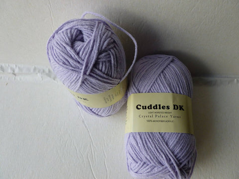 Lilac Petals 127 Cuddles DK by Crystal Palace Yarns - Felted for Ewe