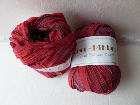 Flame 124  Deco-Ribbon by Crystal Palace Yarns - Felted for Ewe