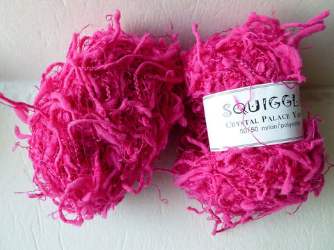 Fuchsia 2265 Squiggle Solid by Crystal Palace Yarns - Felted for Ewe
