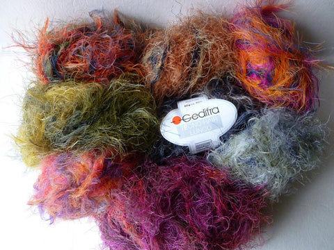 Tecno Hair Lungo by Gedifra - Felted for Ewe