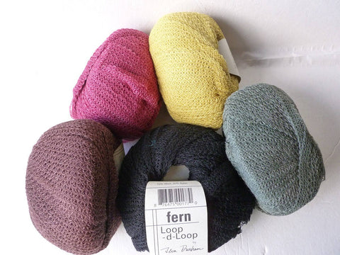 Fern  Loop-d-Loop by Teva Durham for  Tahki Stacy Charles - Felted for Ewe