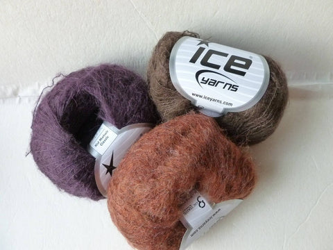 Kid Mohair Classic by Ice Yarns - Felted for Ewe