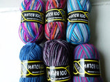 Match 100 Yarn by Strumpf und Sportwolle for Mary Maxim - Felted for Ewe