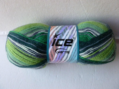 Greens Super Sock by Ice Yarns - Felted for Ewe