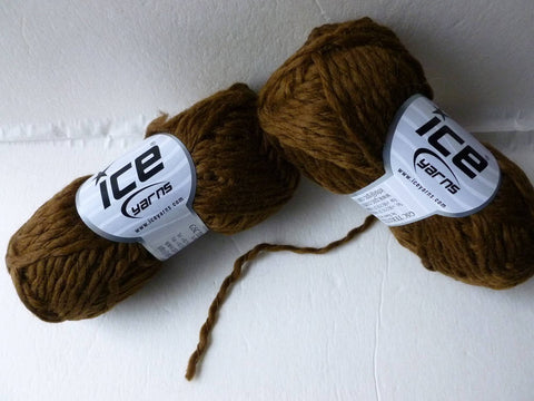Brown Incense Wool by ICE Yarns - Felted for Ewe
