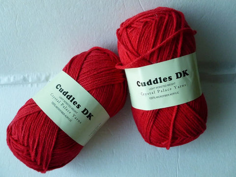 Mars Red 116 Cuddles DK by Crystal Palace Yarns - Felted for Ewe