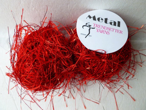 Red 8  Metal by Trendsetter Yarns - Felted for Ewe