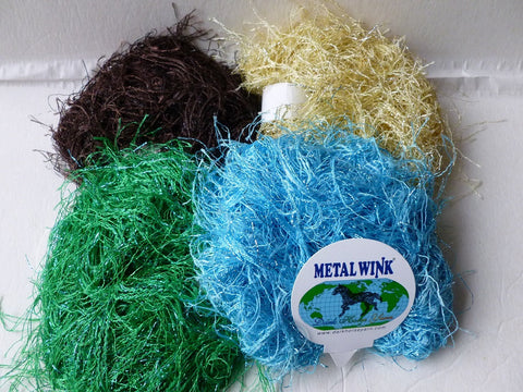 Metal Wink by Dark Horse Yarn - Felted for Ewe