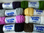 10% Off Retail - Lamb's Pride Bulky - not seconds - by Brown Sheep Company - Felted for Ewe