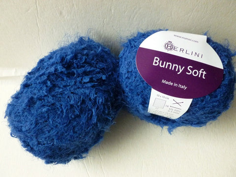 True Blue Bunny Soft by Berlini - Felted for Ewe