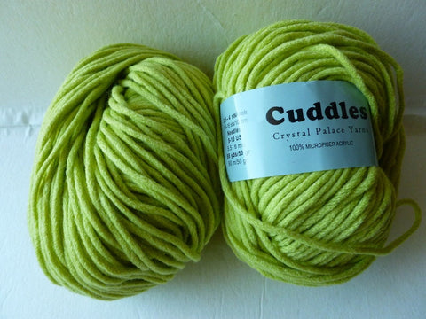 Sale Lime 6107 Cuddles Bulky by Crystal Palace Yarns - Felted for Ewe