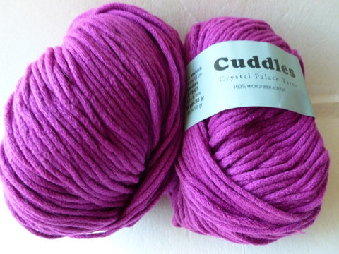 Magenta 6130 Cuddles Bulky by Crystal Palace Yarns - Felted for Ewe