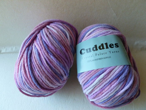 Parfait Pink 7015 Cuddles Bulky by Crystal Palace Yarns - Felted for Ewe
