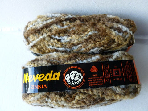 Earth #2137 Zinnia by Neveda, 100% Wool - Felted for Ewe