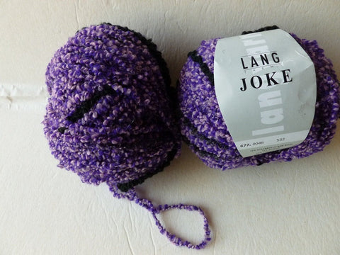 Lilac Black  46  Joke by Lang Yarn - Felted for Ewe