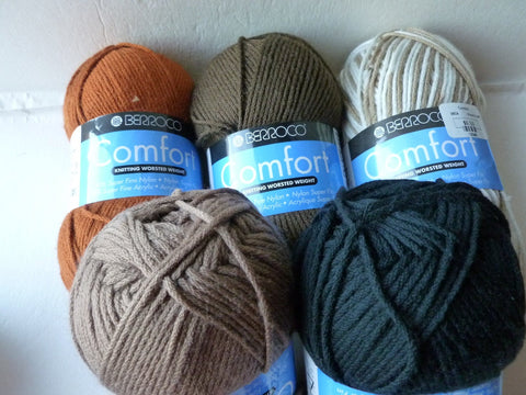 Comfort Worsted by Berroco, Worsted Acrylic Nylon Blend, 100 gm - Felted for Ewe