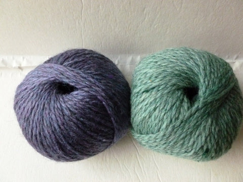 Maine Milled 2 Ply Merino Alpaca Heather Yarn, No Labels - Felted for Ewe