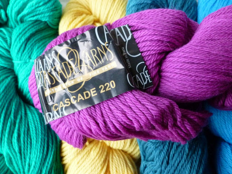 15% off Retail 220 by Cascade Yarn, 100 Percent Wool, Worsted - Felted for Ewe