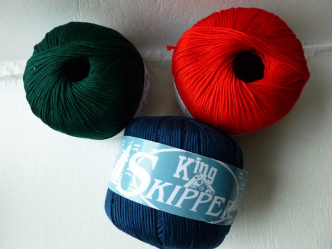 Skipper by King Yarn, 100% Cotton - Felted for Ewe
