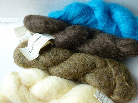 English Mohair NS-MB by Ironstone Yarns - Felted for Ewe