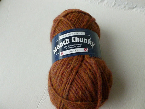 20% off Retail Spice  Mauch Chunky by Kraemer Yarns, 100 gm Felting Wool - Felted for Ewe