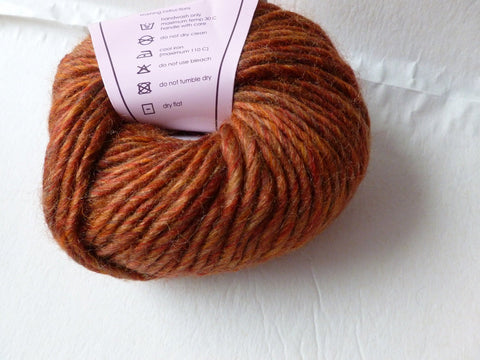 Millais by Louisa Harding Yarns, Bulky Single Ply Wool Acrylic Blend Tweed, 50 gm - Felted for Ewe