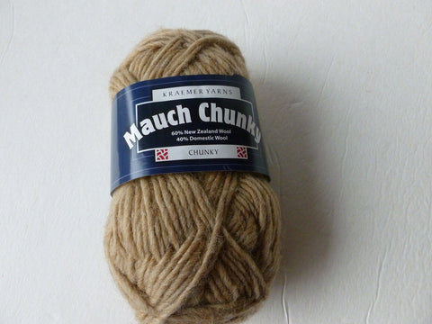 20% off Retail Sandstone  Mauch Chunky by Kraemer Yarns, 100 gm Felting Wool - Felted for Ewe