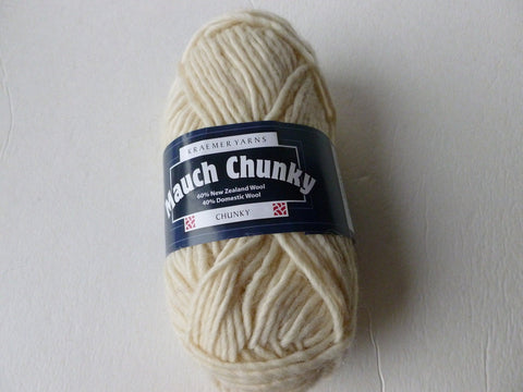 20% off Retail  Water Chestnut  Mauch Chunky by Kraemer Yarns, 100 gm Felting Wool - Felted for Ewe