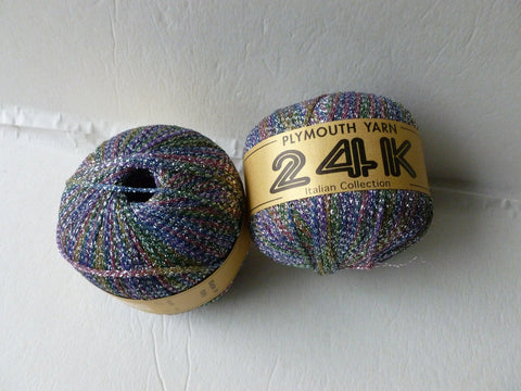 Rainbow 467  24K Plymouth Yarn - Felted for Ewe
