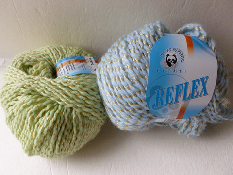 Reflex by Ornaghi Filati, Acrylic Wool Blend, 50 gm Worsted - Felted for Ewe