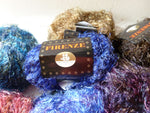 Firenze by Plymouth Yarn, Nylon Wool  Blend Eyelash, 50 gm - Felted for Ewe