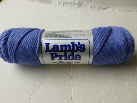 Periwinkle Lamb's Pride Bulky  - Seconds -by Brown Sheep Company - Felted for Ewe