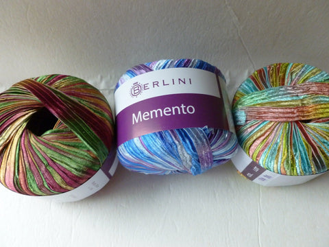 Memento by Berlini, Nylon Ribbon, 3/8 inch wide - Felted for Ewe