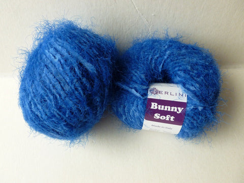York Blue Bunny Soft by Berlini - Felted for Ewe