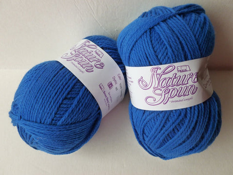 China blue  Nature Spun Worsted - Seconds - by Brown Sheep Company - Felted for Ewe
