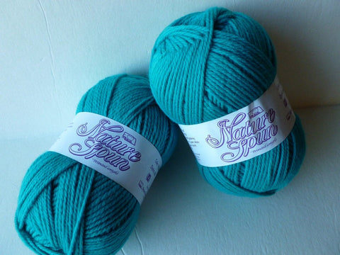 Turquoise Wonder Nature Spun Worsted  - Seconds -by Brown Sheep Company - Felted for Ewe
