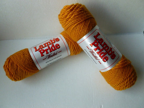 Sunburst Gold Lamb's Pride Worsted  - Not Seconds - by Brown Sheep Company
