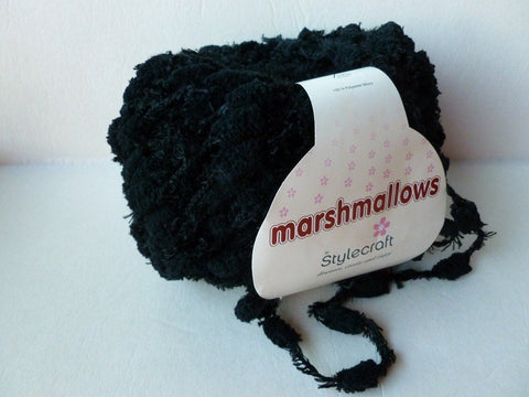 Black Marshmallows by Stylecraft - Felted for Ewe