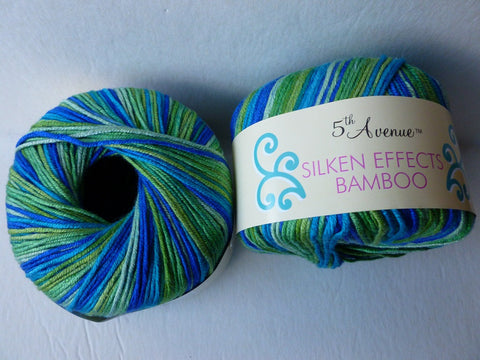 Lakeside Silken Effects Bamboo by 5th Avenue - Felted for Ewe
