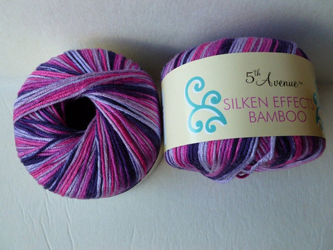 Berry Fields Silken Effects Bamboo by 5th Avenue - Felted for Ewe